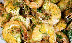 receta de camarones fritos