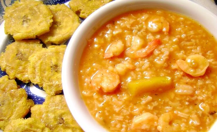 receta para asopao de camarones dominicano