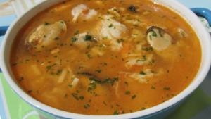 Sopa de Pescado Fácil y Nutritiva