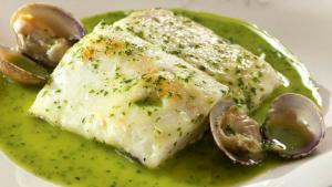 Filetes de Pescado en Salsa Verde