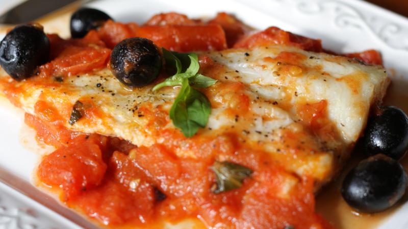 Pescado en Salsa Italiana